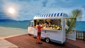 Food truck at The Ritz-Carlton Sanya
