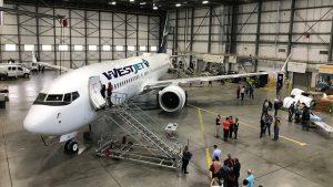 Westjet B737 Max 8