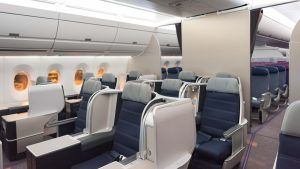 Malaysia Airlines' A350 business class