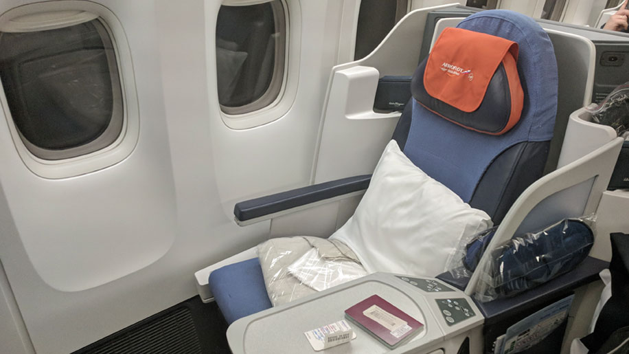 Aeroflot B777 Business Seat