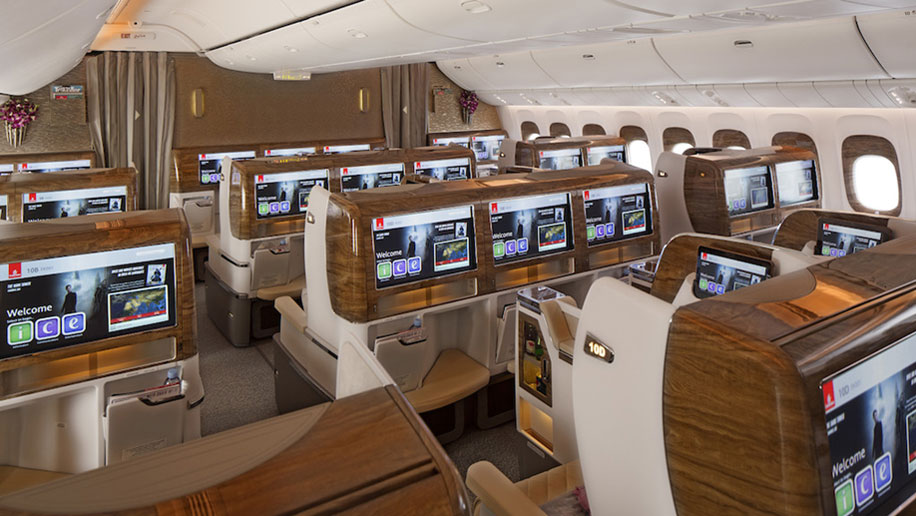 Business-Class-Cabin-on-Boeing B777-300ER