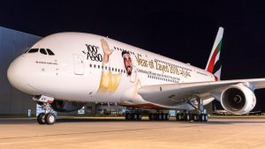 Emirates takes delivery of its 100th A380 superjumbo