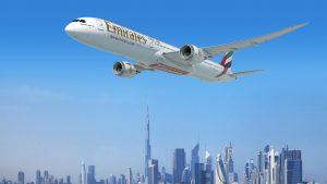 Emirates' B787-10 Dreamliner