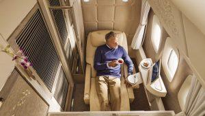 Emirates B777-300ER First Class