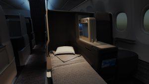 Flydubai B737 Max 8 business class