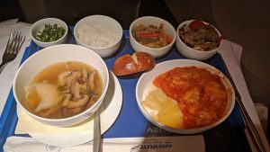 Aeroflot Chinese Food