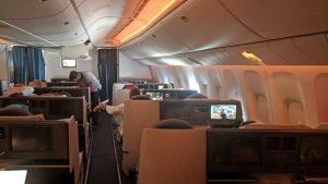 Aeroflot business class Inflight