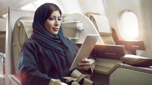 Saudia in-flight wifi
