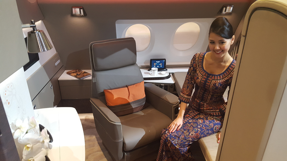 Car Rental With Car Seat >> Singapore Airlines unveils new A380 seats – Business Traveller
