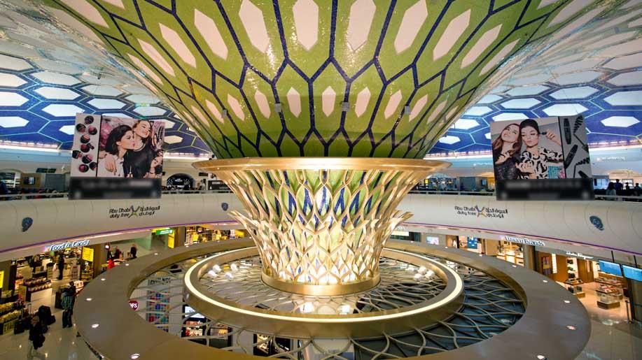 Terminal 1 of Abu Dhabi International Airport