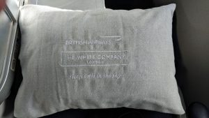 The White Company pillow