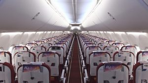 Hainan Airlines' B737 Max 8 economy class