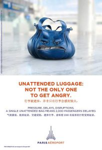 Unattended luggage 2