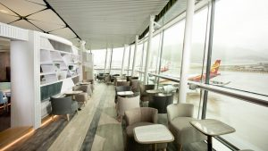 Hong Kong Airlines Club Autus lounge, Hong Kong Airport - Scenery Zone