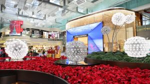 Changi Airport Terminal 3 Central Piazza with Louis Vuitton duplex