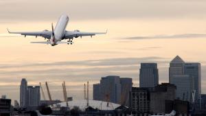 British Airways aircraft at London City airport