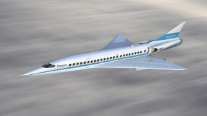 Japan Airlines-Boom supersonic jet