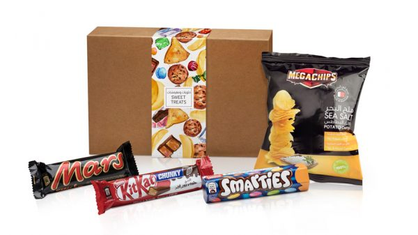 Etihad snack box