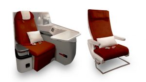 Hainan Airlines A330-300 business and economy