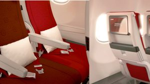 Hainan Airlines A330-300 economy