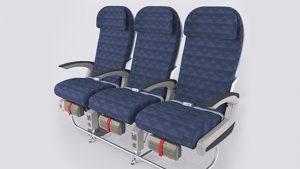 Korean Air CS300 economy