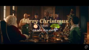 Air New Zealand Christmas video
