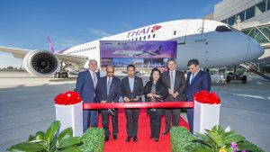 Thai Airways' takes delivery of its second Boeing 787-9 Dreamliner