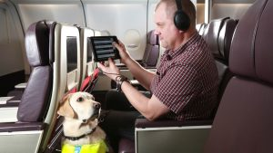 Virgin Atlantic has launched IFE technology for visually impaired passengers