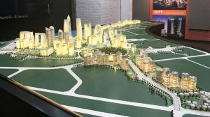 3D model of GIFT City plan
