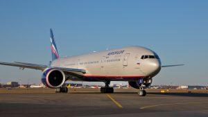 Aeroflot aircraft