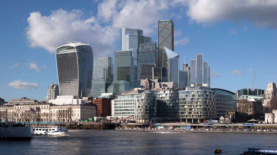 City Of London Publishes 2026 Cgi Skyline Business Traveller