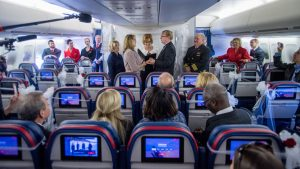 Delta celebrates final flight of its B747-400 aircraft