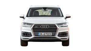 Front of Audi Q7
