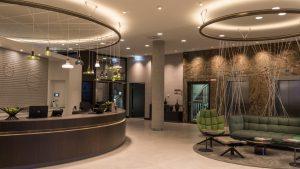 Hyatt Place Frankfurt Airport lobby