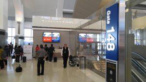 LA Airport gate