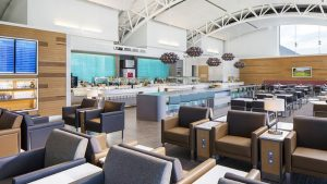 American Airlines' Flagship Lounge at Los Angeles International Airport