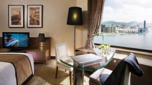 Harbour Grand Hong Kong Superior Harbour View Room Workstation