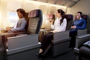 United Airlines' new premium economy cabin, Premium Plus
