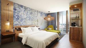 Gantry guestroom Curio