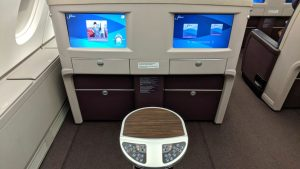 Malaysia Airlines two-seats