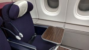 Malaysia Airlines A380 window-seat