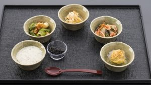 Japan Airlines new international first class menu