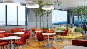 First new-look Senator Lounge opens at Vienna Airport