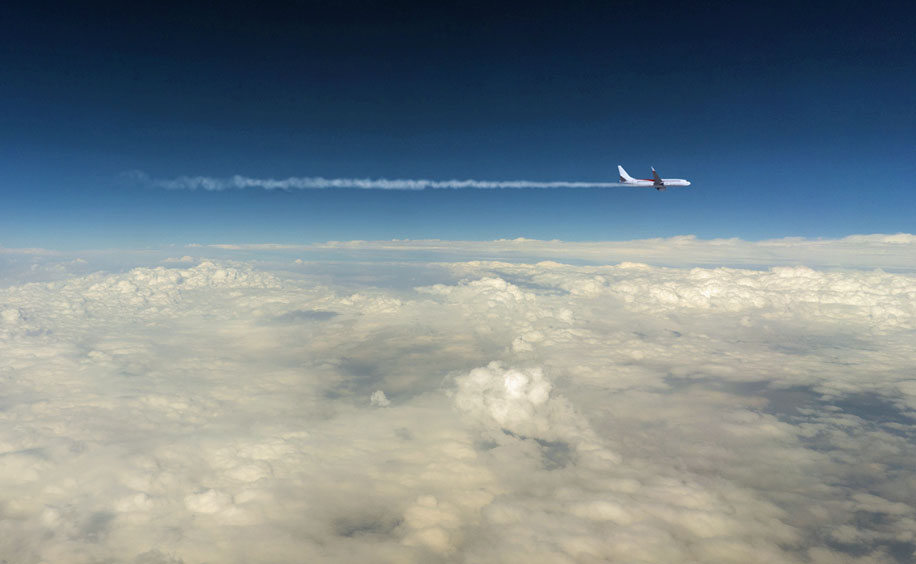 Flight-contrail
