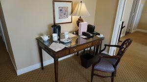 Langham LA Huntington Suite desk