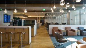 Lufthansa Milan Malpensa lounge
