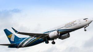 Oman Air B737 Max 8