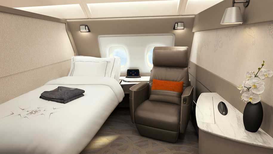 Flight review: Singapore Airlines A380 new first class suites ...