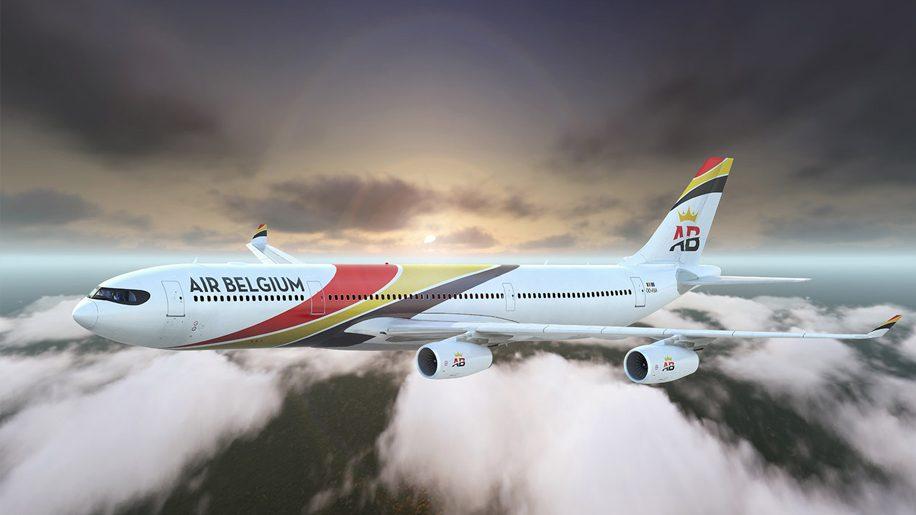 Air Belgium Airbus A340-400 - Credit: Air Belgium