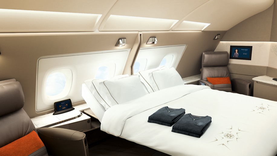 Singapore Airlines New A380 First Cl Suites
